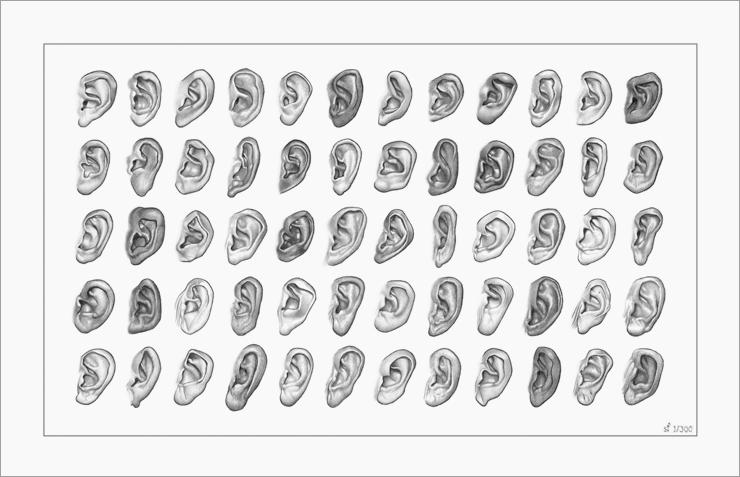 60 Ears print