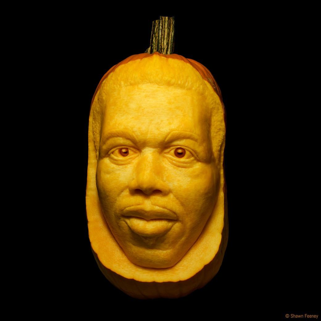 Ornette Coleman Memorial Jack-o-lantern