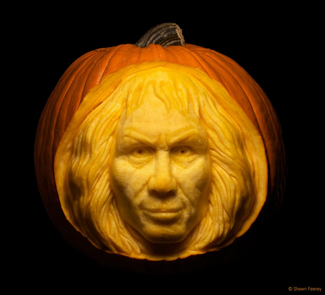 Ronnie James Dio Memorial Jack-o-lantern