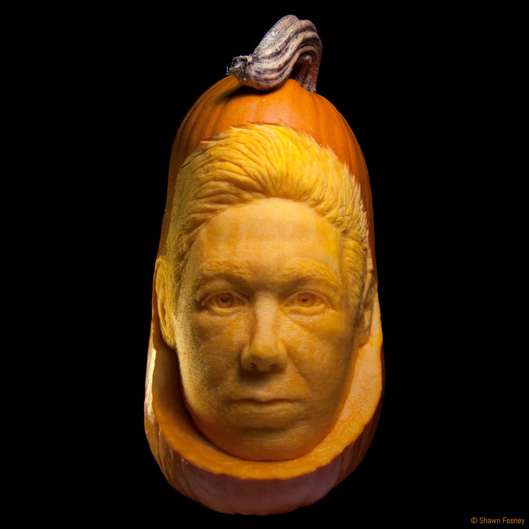 Adam Yauch MCA Memorial Jack-o-lantern