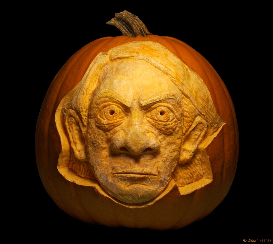 Stockhausen Memorial Jack-o-lantern