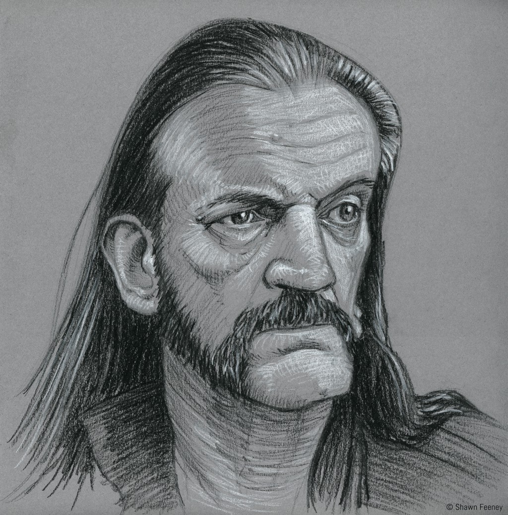 Lemmy sketch by Shawn Feeney