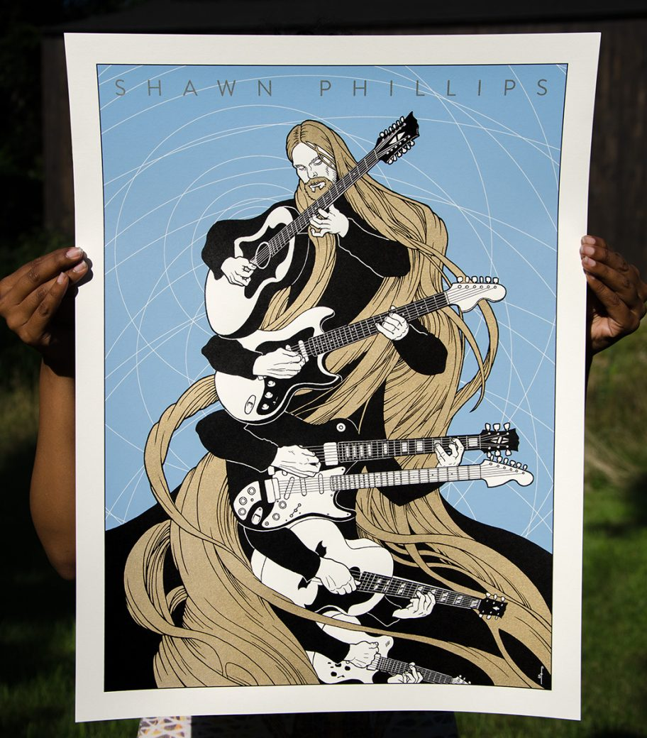 Shawn Phillips poster by Shawn Feeney